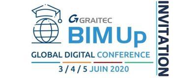Invitation GRAITEC BIMup Conference Digitale
