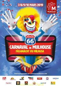 Mulhouse carnaval poster