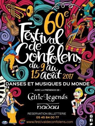 Confolens Festival poster