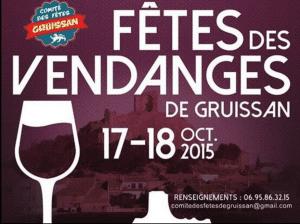 Gruissan Wine Harvest poster