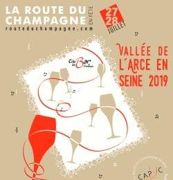 route de champagne poster