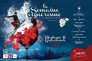 poster - Samoens winemaker weej