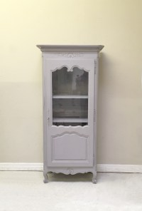 ID4429 Old French Glazed Cupboard