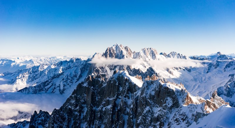 Image article 10 top places in France - Mont Blanc - Montenvers - France