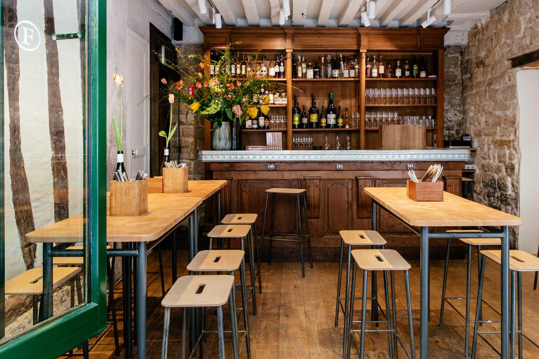 Frenchie  Bar  Vins  Un site utilisant WordPress
