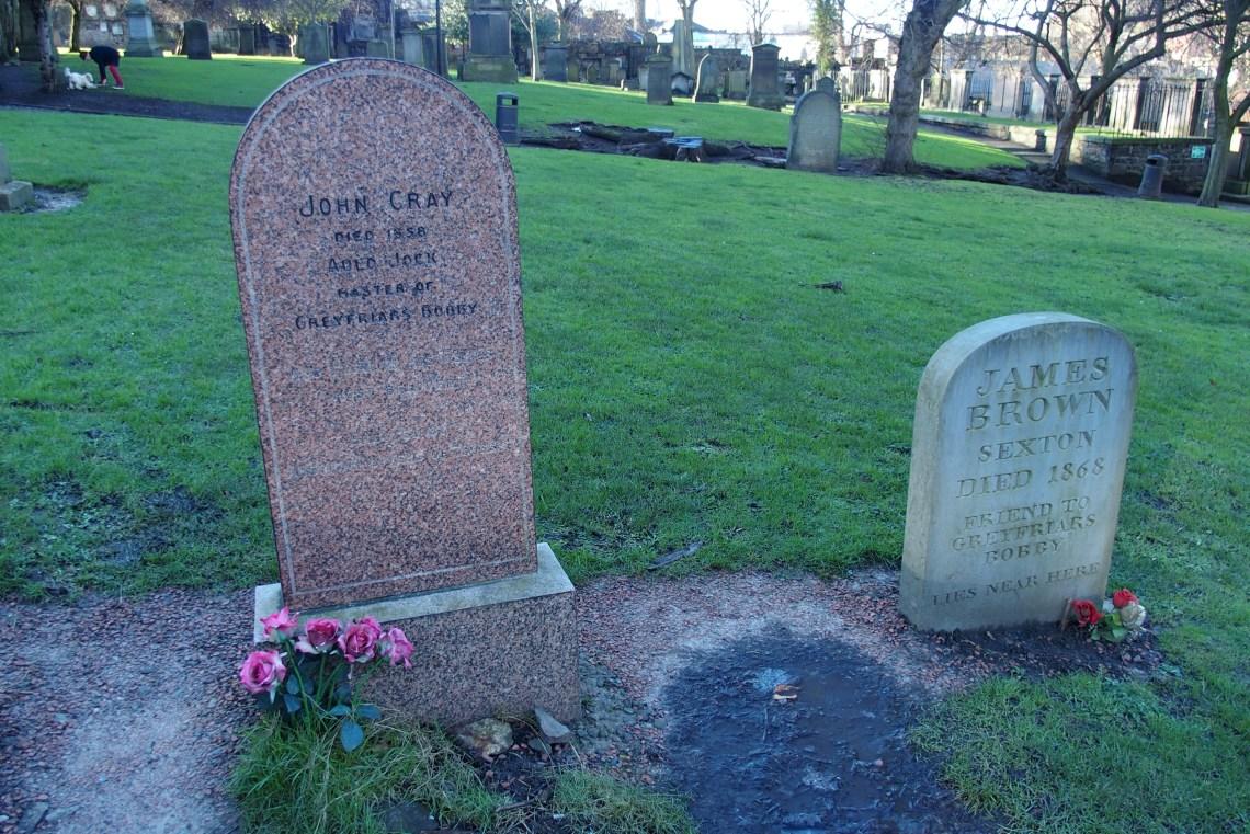 La tombe de John Gray, où Bobby venait tous les jours...