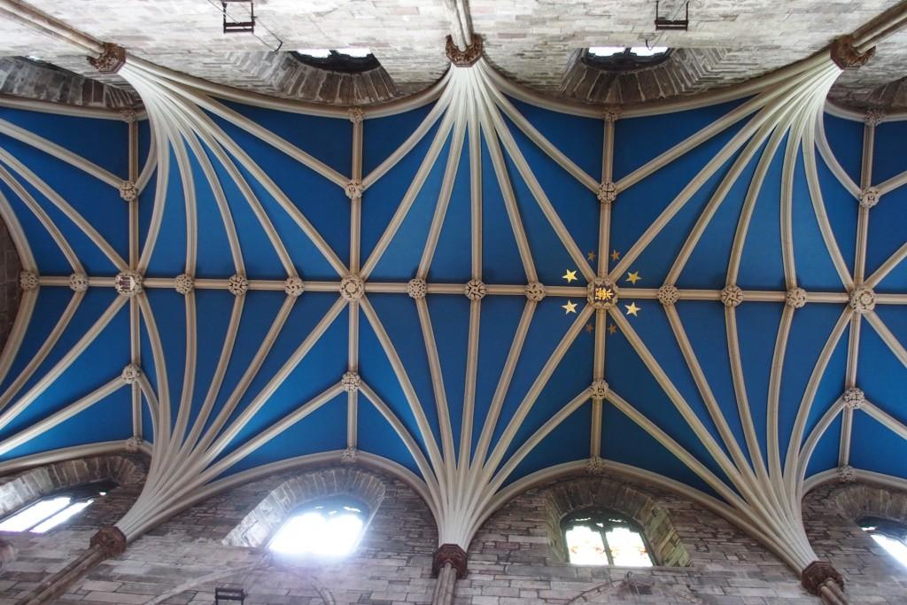 Le plafond très politique de St Giles cathedral...
