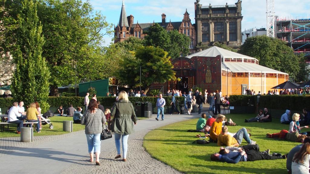 fringe edinburgh scotland