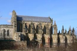 La chapelle de Rosslyn, comme dans le Da Vinci Code