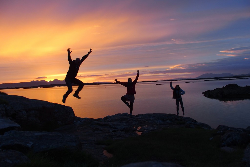 arisaig sunset scotland