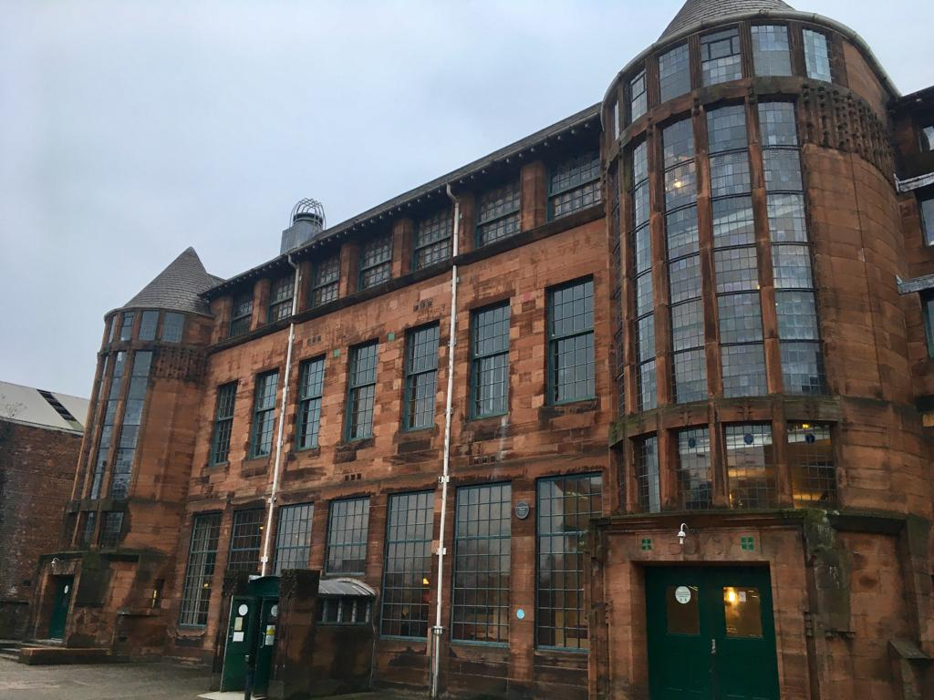 Scotland Street School Glasgow Charles Rennie Mackintosh