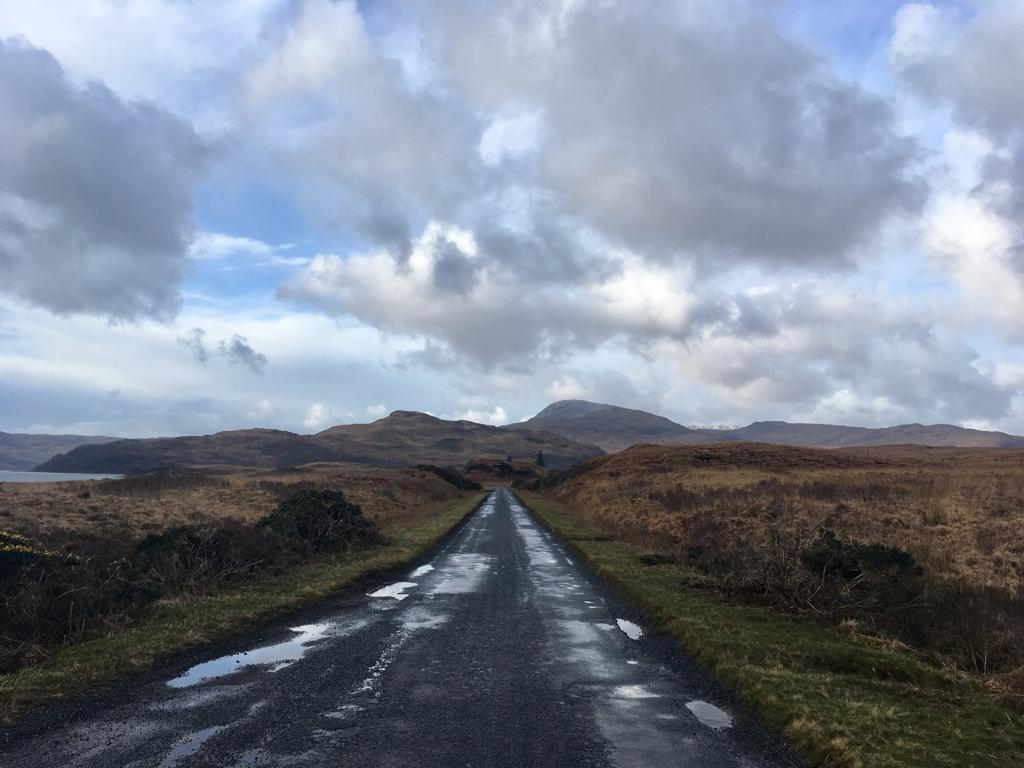 mull single track road