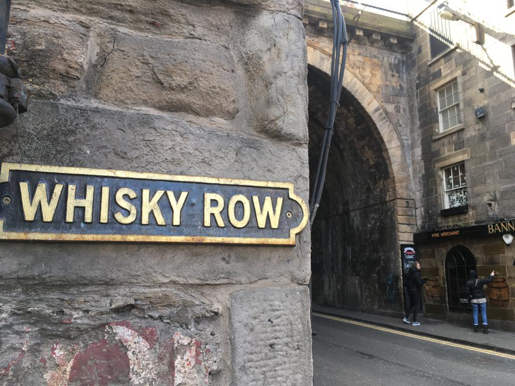whisky row