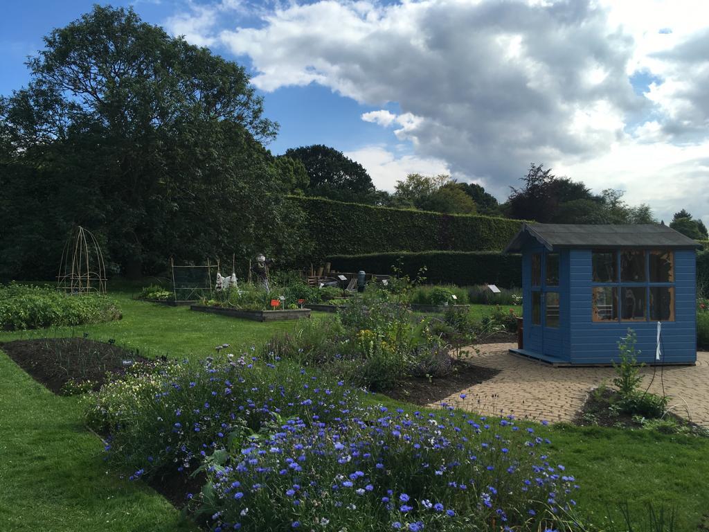 jardin botanique edimbourg