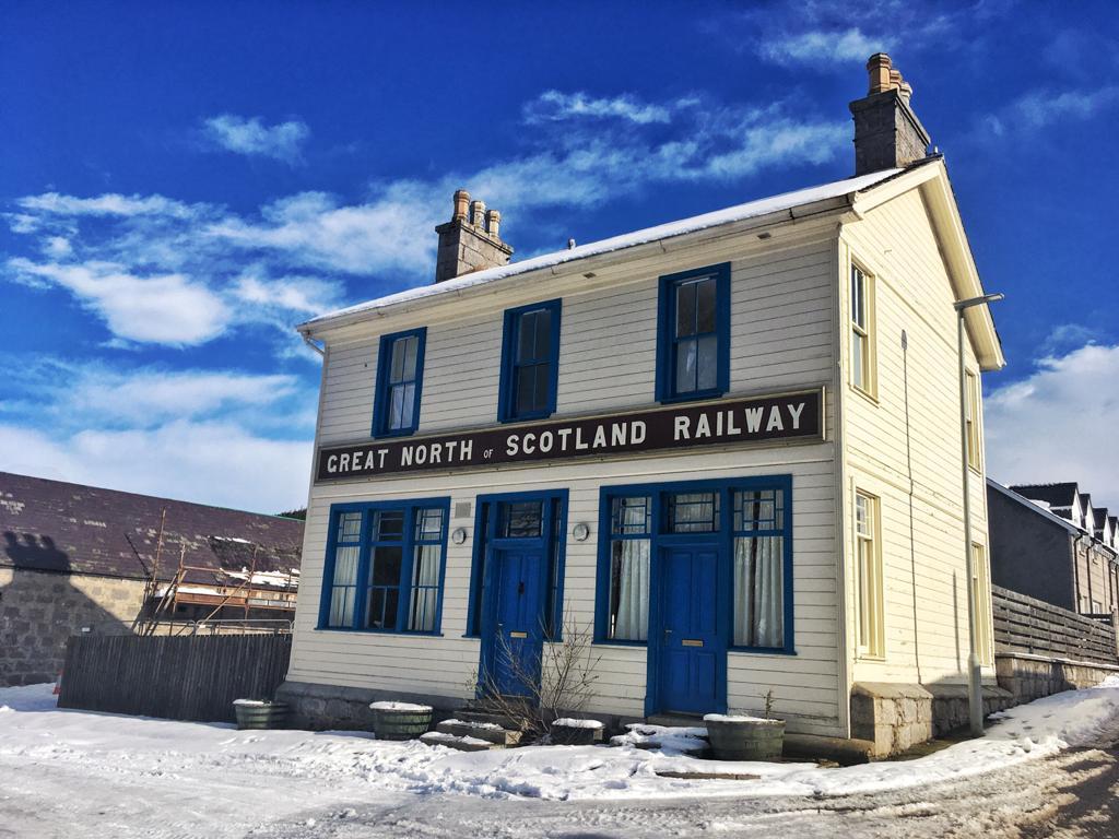 Ancienne gare de Braemar