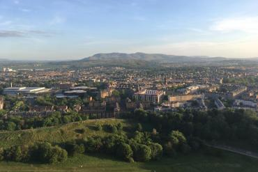 Edimbourg depuis Arthur's Seat