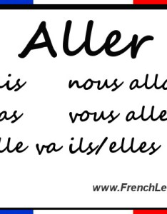 Back to main verbs page next lesson faire  make do also aller conjugation chart rh frenchlearner