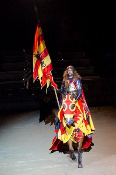 Medieval Time - notre chevalier