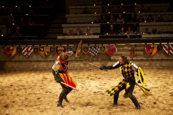 Medieval Time - the fight