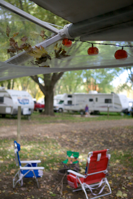 Décorations en camping