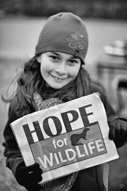 Levée de fonds pour Hope for Wildlife