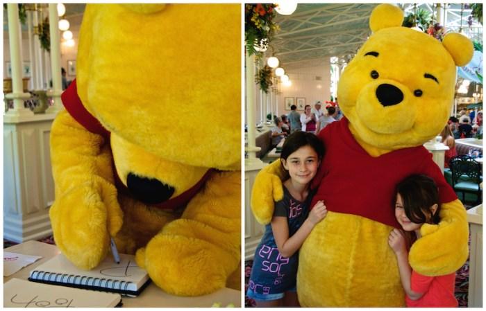 Rencontre avec Winnie the Pooh!