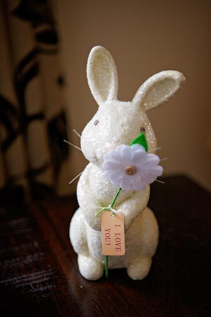 Mon lapin de Pâques