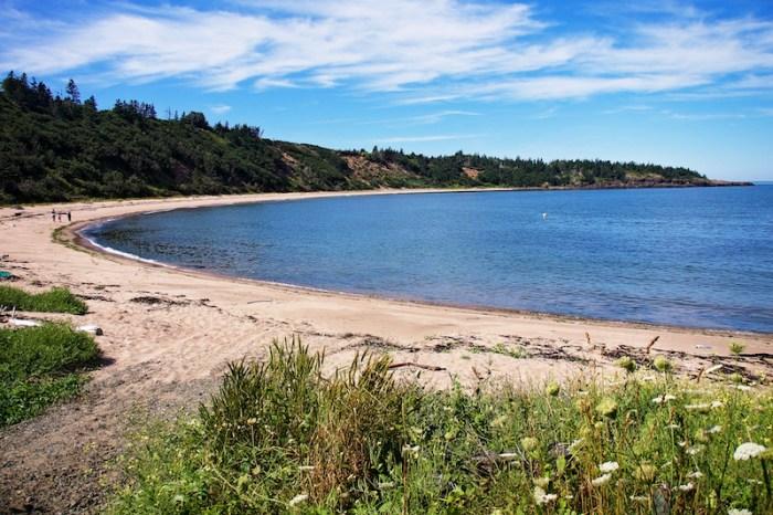 Sandy Cove Beach, NS