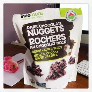 Rochers au chocolat noir Innofoods