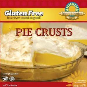 Croûte à tarte sans gluten Kinnikinnick