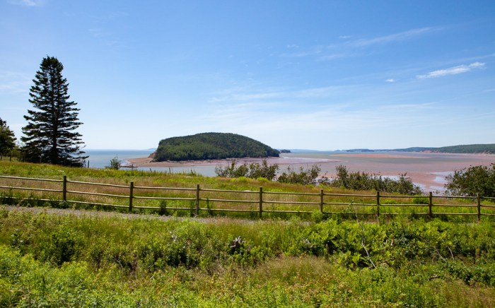 Moose Island - Five Islands provincial park