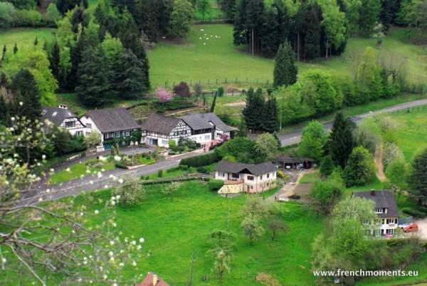 séjour printanier en Alsace : Jura alsacien vu du château de Ferrette © French Moment