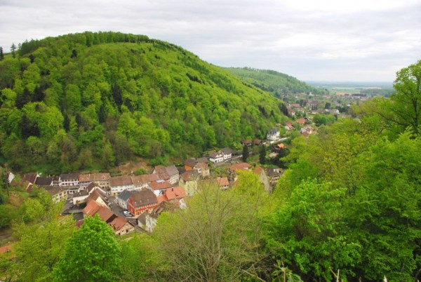 séjour printanier en Alsace : Ferrette depuis le château © French Moments