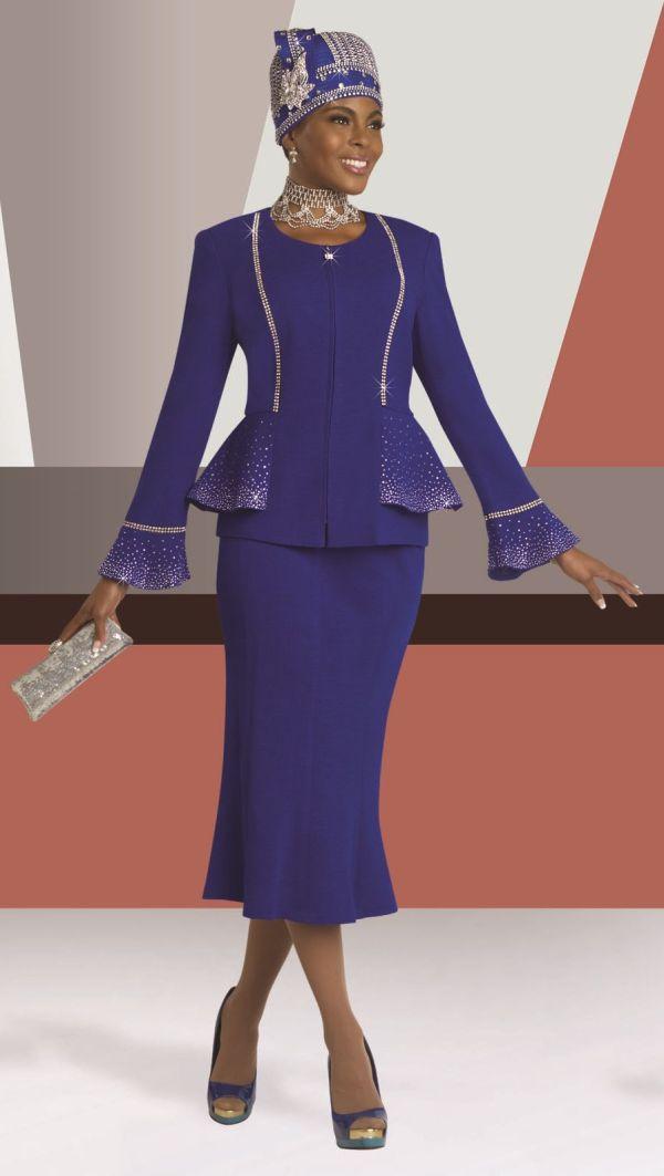 Donna Vinci 13043 Knit Church Suit French Novelty