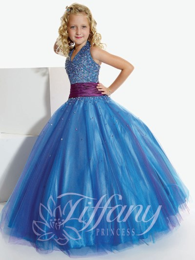 Tiffany Princess Girls Pageant Dress 13260 by House of Wu  French Novelty