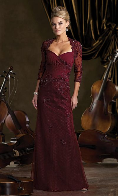 Ivonne D Exclusively for Mon Cheri Gown 212D79 French Novelty