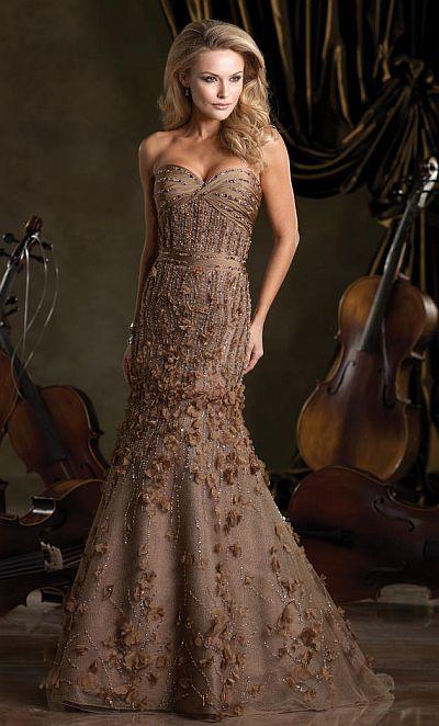 Ivonne D Exclusively for Mon Cheri Mothers Wedding Dress