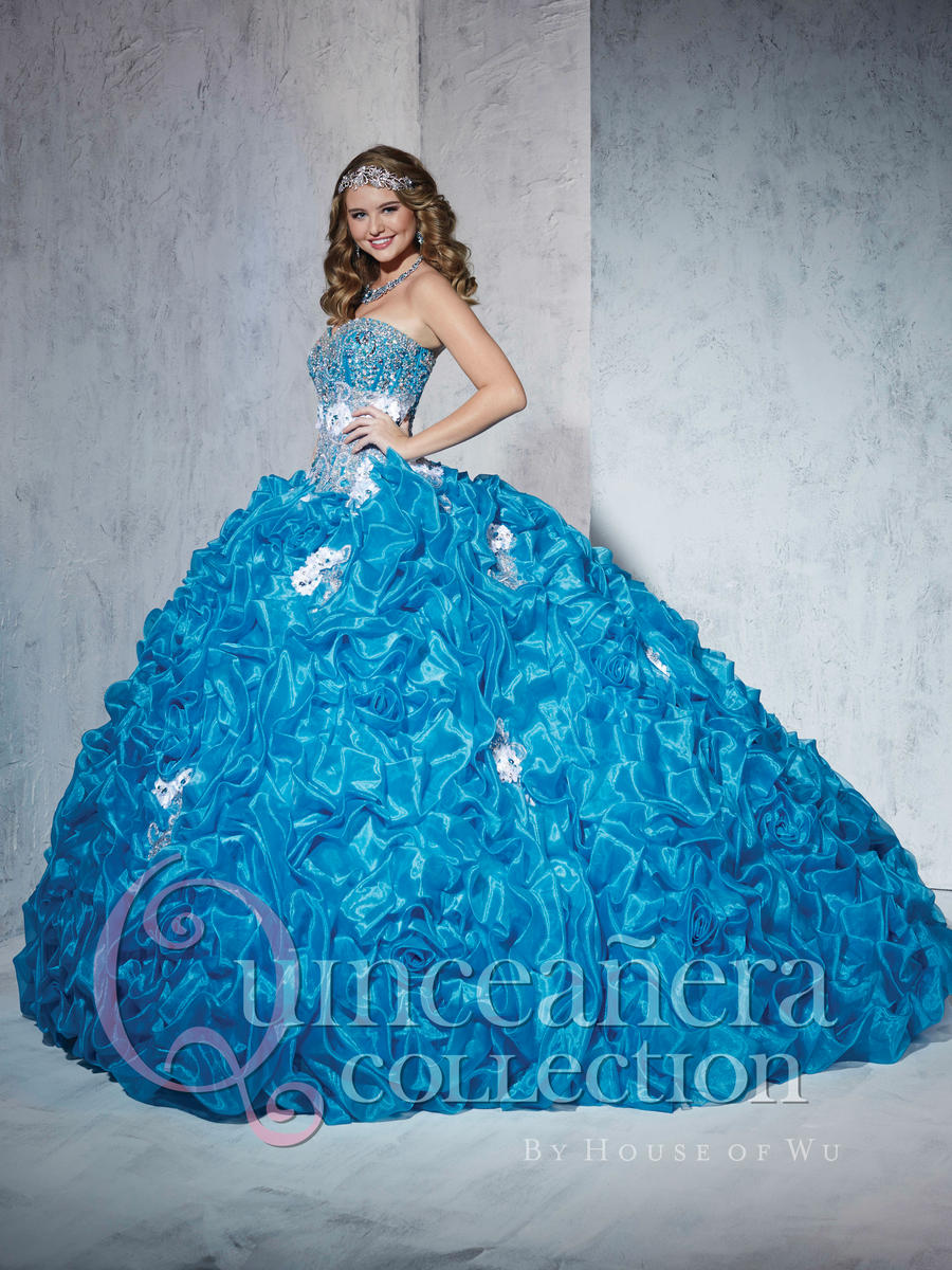 3c0457382b9 Quinceanera By House Of Wu 26778 Ballgown French Novelty