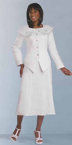 White Wedding Suits For Brides