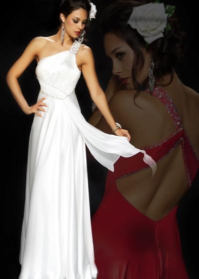 Mac Duggal Homecoming Greek Goddess Long Dress 4422NL French Novelty