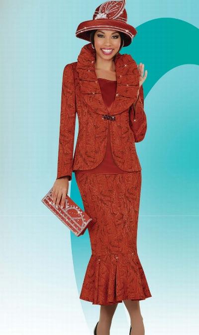 Ben Marc International Womens Church Suit 4628 French Novelty