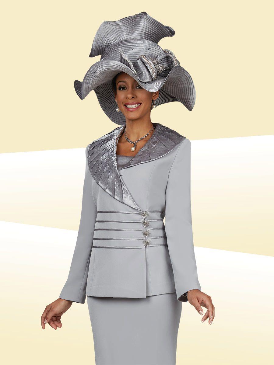 Ben Marc 47936 Womens Asymmetrical Church Suit French Novelty