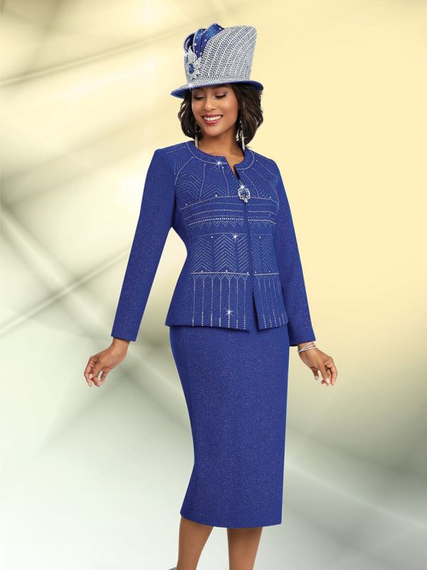 Ben Marc 48060 Ladies Embellished Church Suit French Novelty