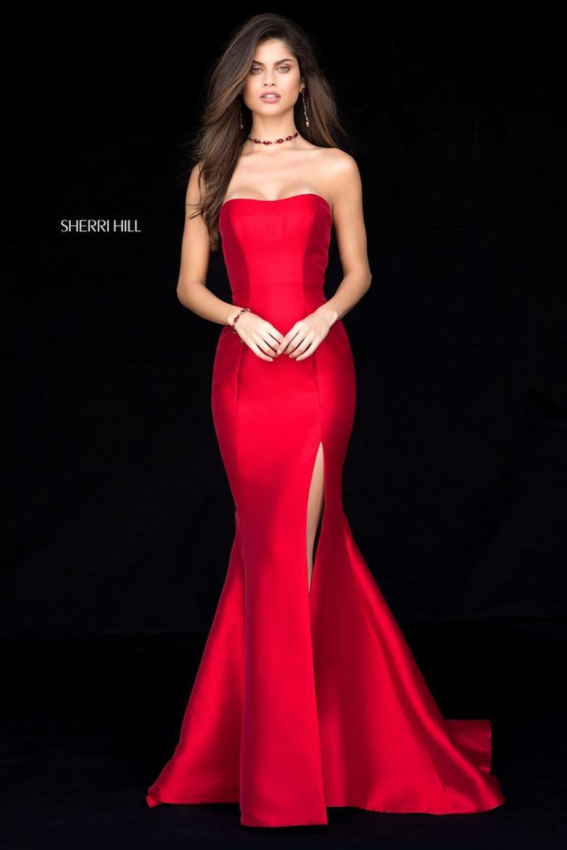 Sherri Hill 51671 Mermaid Prom Dress with Slit French Novelty