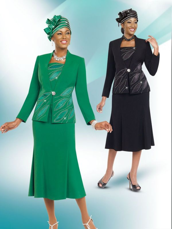Ben Marc Sunday 52812 Womens Church Suit French Novelty