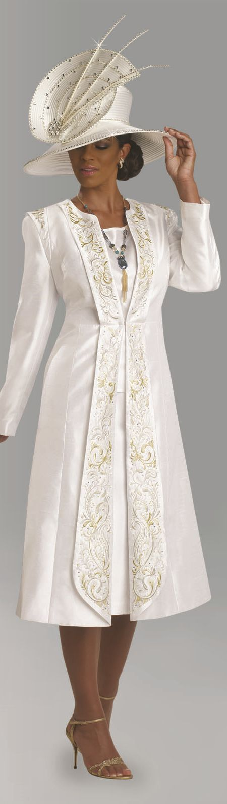 00fb548843d Womens Church Suit By Donna Vinci 11630 Spring 2018 Free Coloring ...