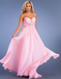 Size 16 Lime Dave and Johnny Jeweled Chiffon Prom Dress ...