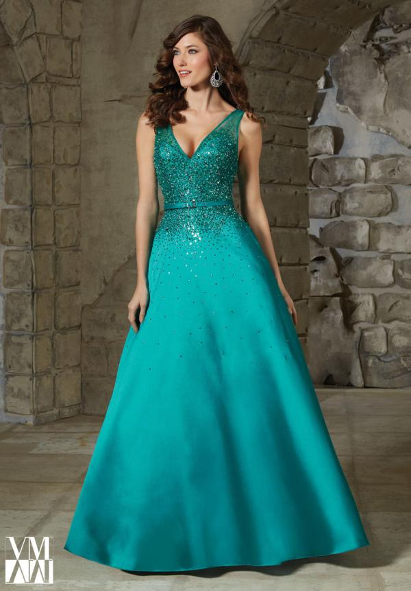 Vm Collection 71246 Beaded Lace Formal Dress French Novelty