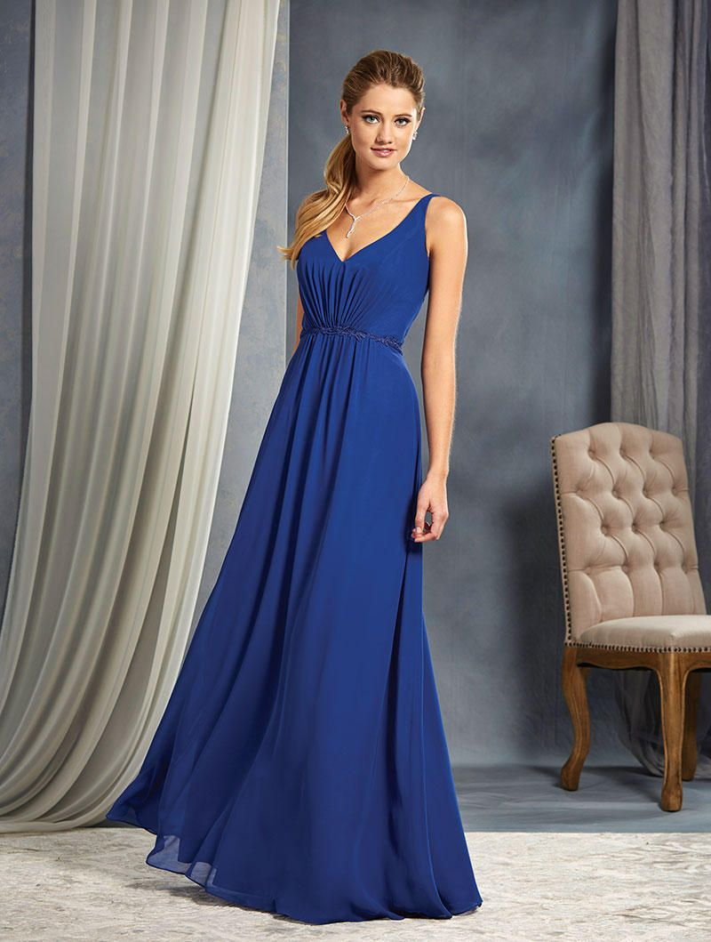 Size 14 Cameo Mediterranean Blue Alfred Angelo 7366L