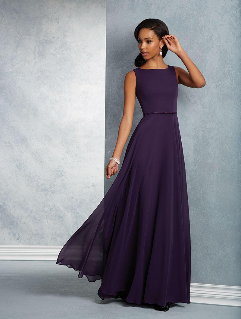 Alfred Angelo 7408S Short Sleeveless Bridesmaid Dress